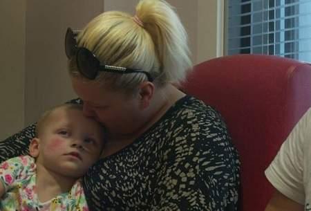 آزمایش تحریک عمقی مغز در یک کودک ۲ ساله