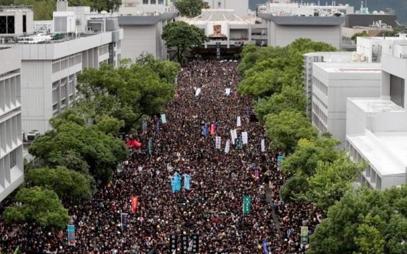 دانشآموزان هنگکنگی مدرسه را تحریم کردند