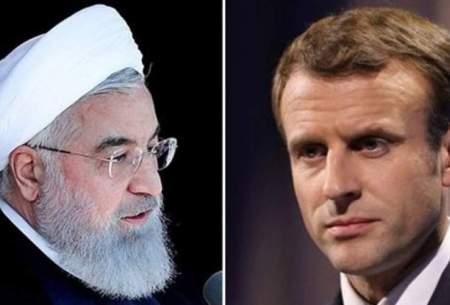 روحانی به مکرون: مذاکره با آمریکا معنا ندارد