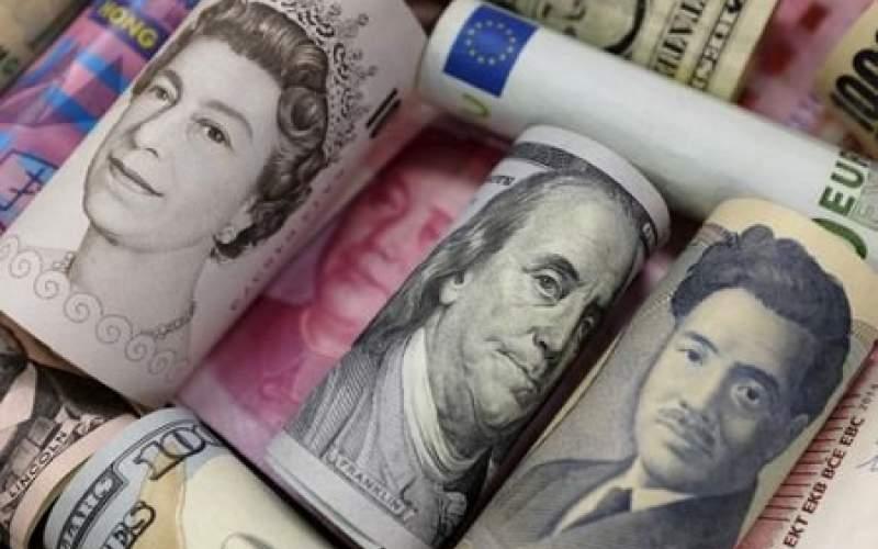 دلار جلوی یورو و پوند کم آورد