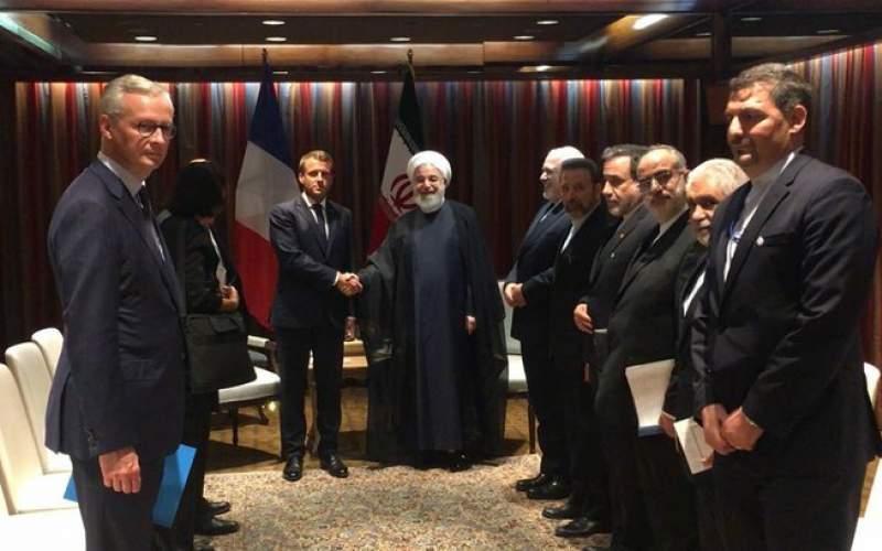 روحانی:تلاش مکرون با لغو تحریمها نتیجه میدهد