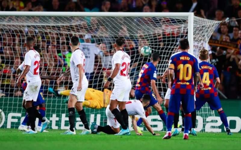 بارسلونا در دو قدمی رئال مادرید