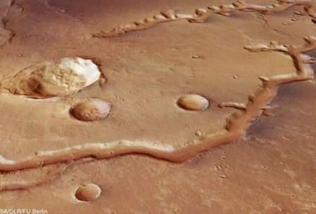 عکسهای اثبات وجود آب در مریخ