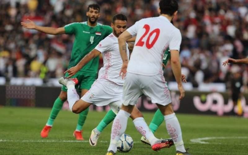 شکست تلخ تیم ملی ایران مقابل عراق با انگیزه