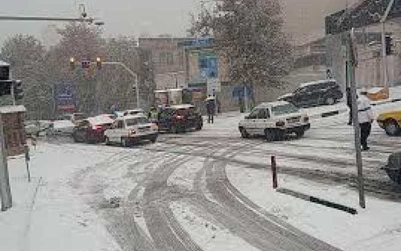 تداوم بارش برف در تهران تا دو روز آینده