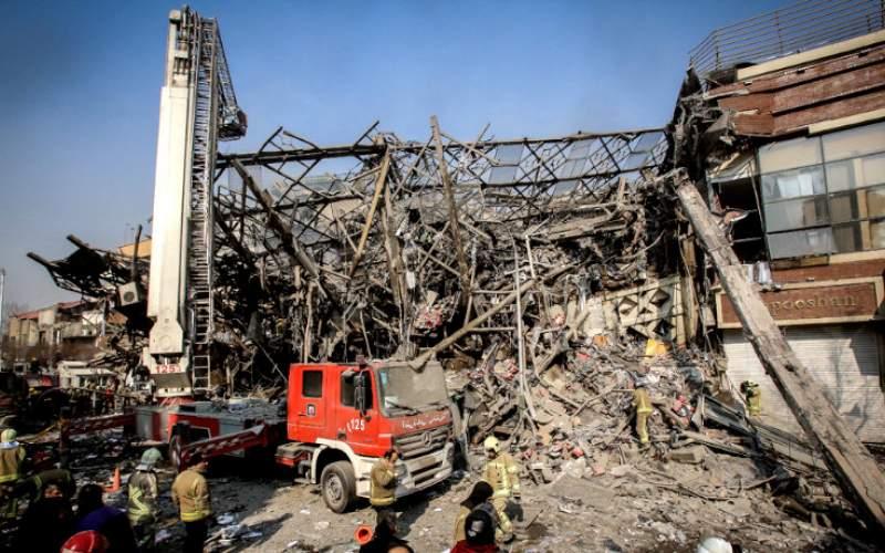 دلیل توقف ساخت و ساز در پلاسکو