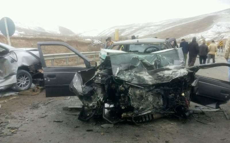 ۱۶۰۰ کشته بر اثر تصادفات رانندگی در مهر