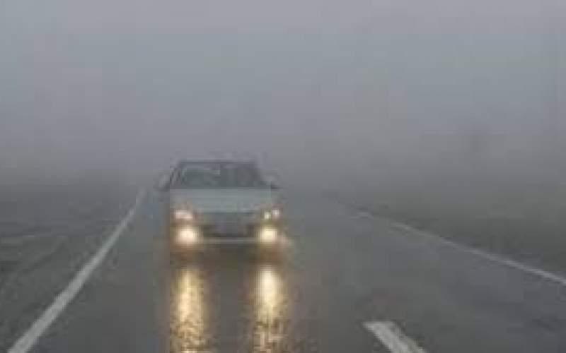 مه گرفتگی در پنج محور مواصلاتی کشور