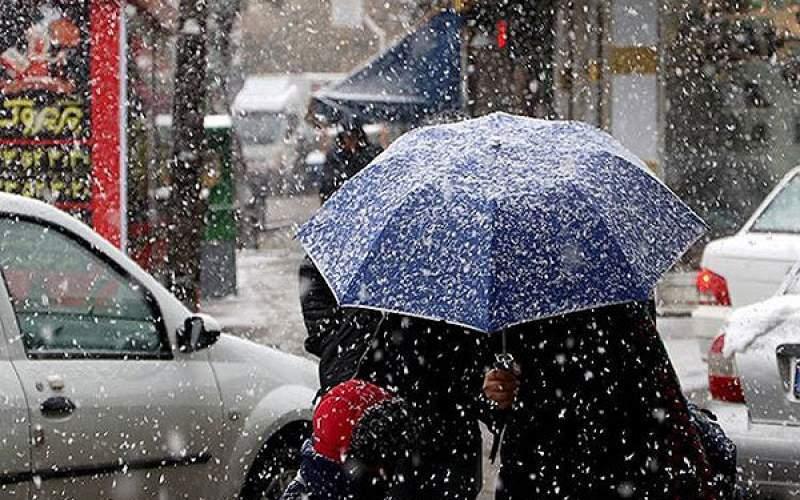 بارش برف و باران شش روزه در ۳۱ استان