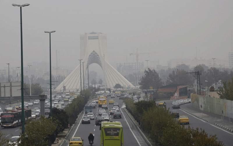 تهرانیها ۵۹ روز در هوای آلوده نفس کشیدهاند