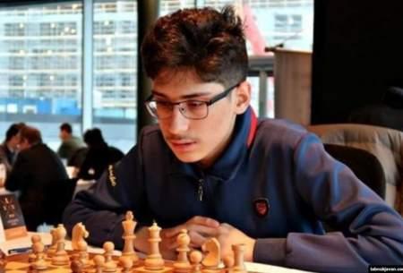 نوجوان نابغه ایرانی نایب قهرمان شطرنج بزرگسالان جهان شد