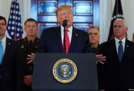 ترامپ: به زودی تحریمهای بیشتری علیه ایران وضع میکنیم