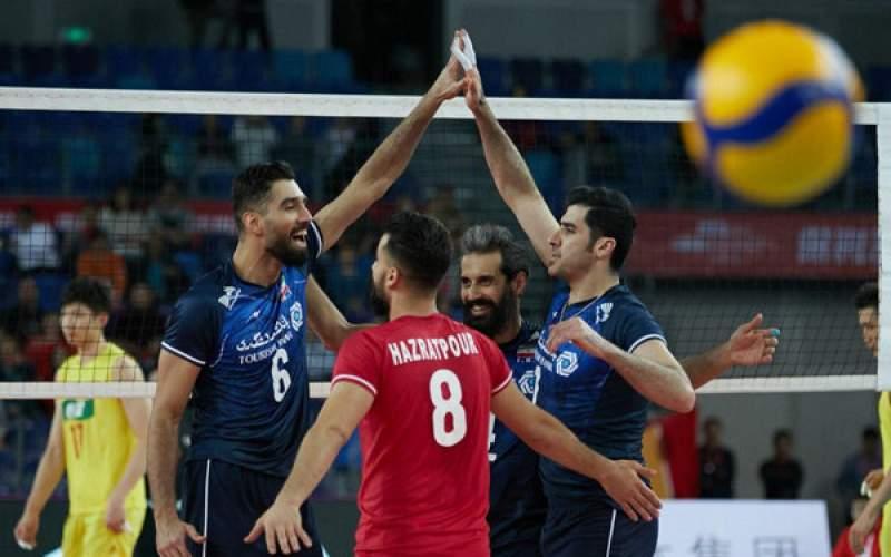 انتخابی المپیک؛ پیروزی تیم ملی والیبال بر چین