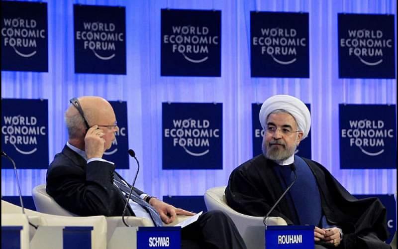 حسن روحانی در نخستین سال ریاست جمهوری اش به اجلاس داووس رفت