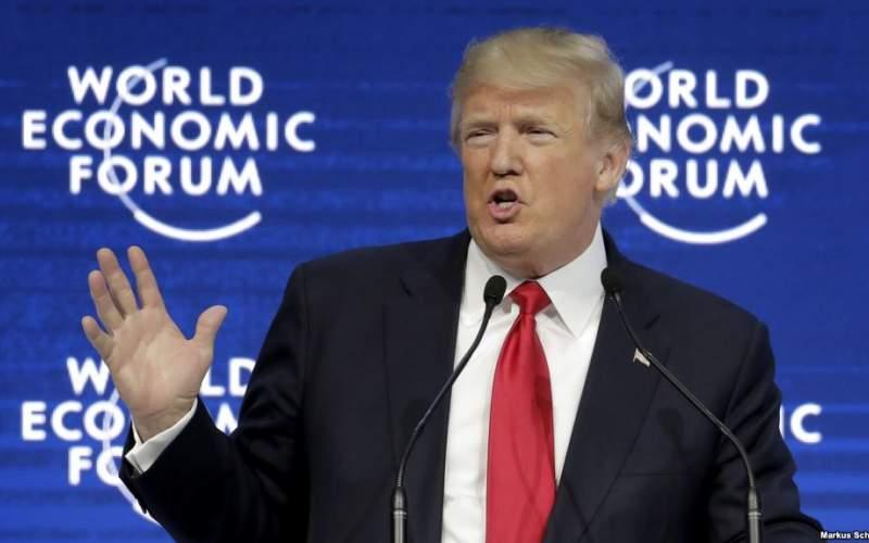 ترامپ در نشست 2020 داووس،نطق خود را تماما انتخاباتی انجام داد