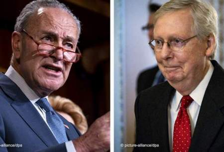 چاک شومر (دموکرات) و میتچ مککونل (جمهوریخواه)، دو سناتور رقیب