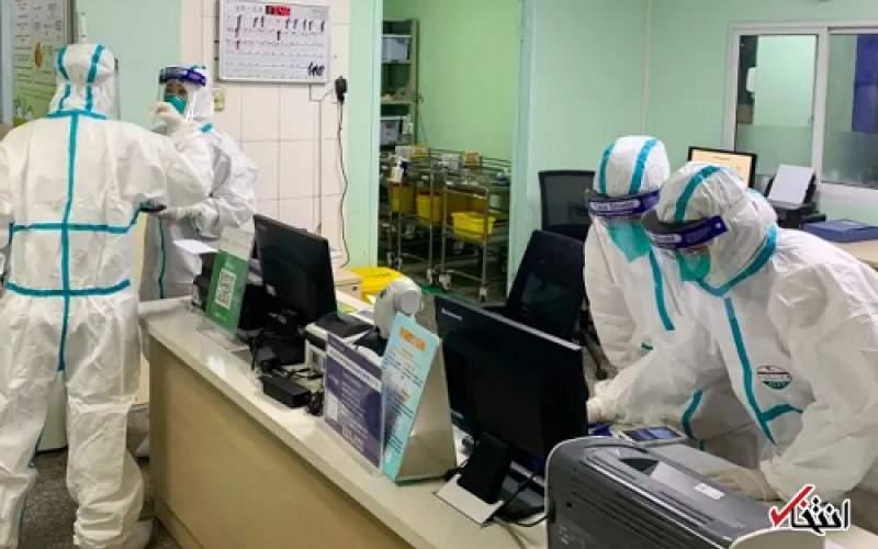 بیمار مبتلا به کرونا در آمریکا با ربات درمان میشود