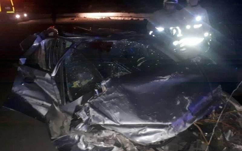 تصادف مرگبار در غرب تهران