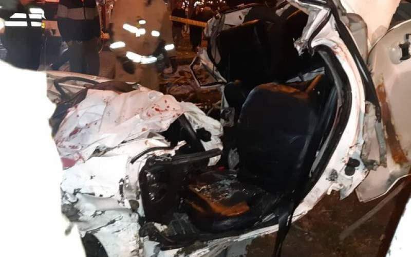 گزارش ۱۲۹تصادف رانندگی به اورژانس در یک هفته