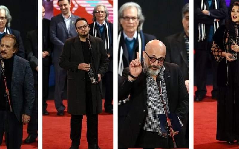 برگزیدگان جشنواره فیلم فجر چه گفتند