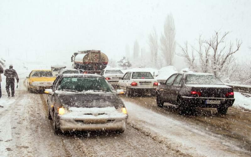 گردنههای کوهستانی زنجان اسیر کولاک شدید