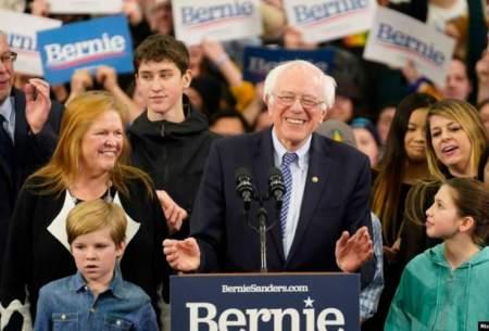 برنی سندرز پیروز انتخابات درونحزبی نوادا