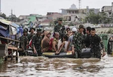 پایتخت اندونزی زیر سیل رفت