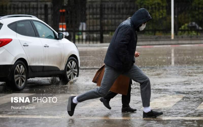 باران در تهران رکورد زد