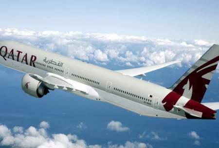 تعلیق پروازهای قطر ایرلاین به ایران تا ۲۴ اسفند