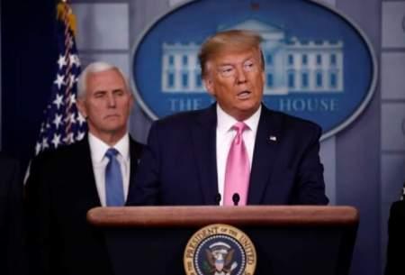 ترامپ: سطح تهدید کرونا در آمریکا پایین است