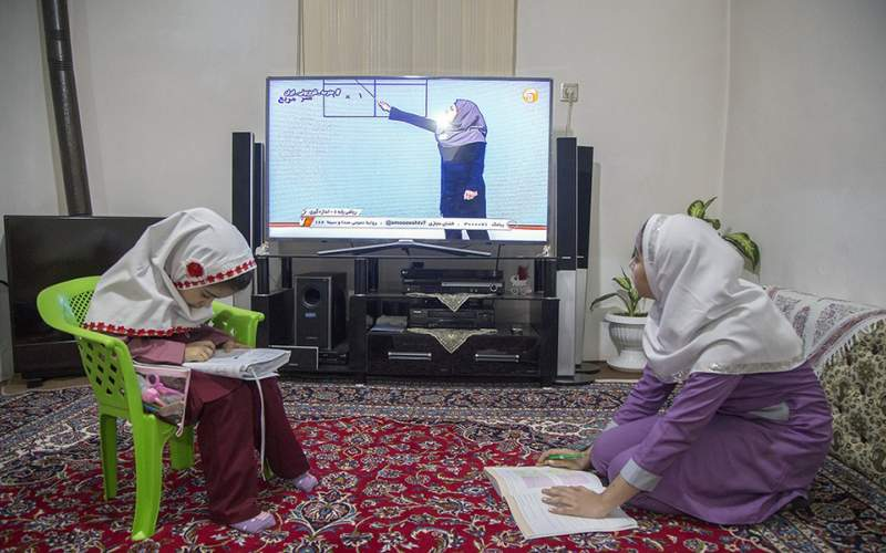مدرسه در تلویزیون/تصاویر
