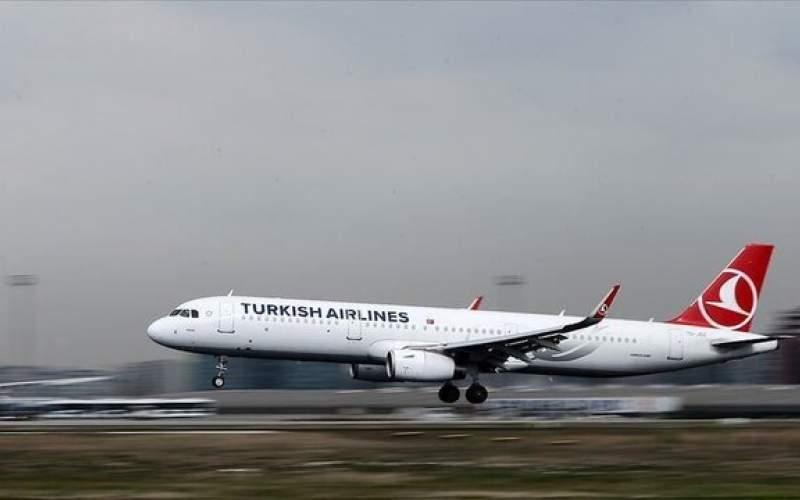 پرواز ترکیش ایرلاین به ۹ کشور جدید لغو شد