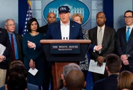رییسجمهور ایالات متحده آزمایش کرونا داد