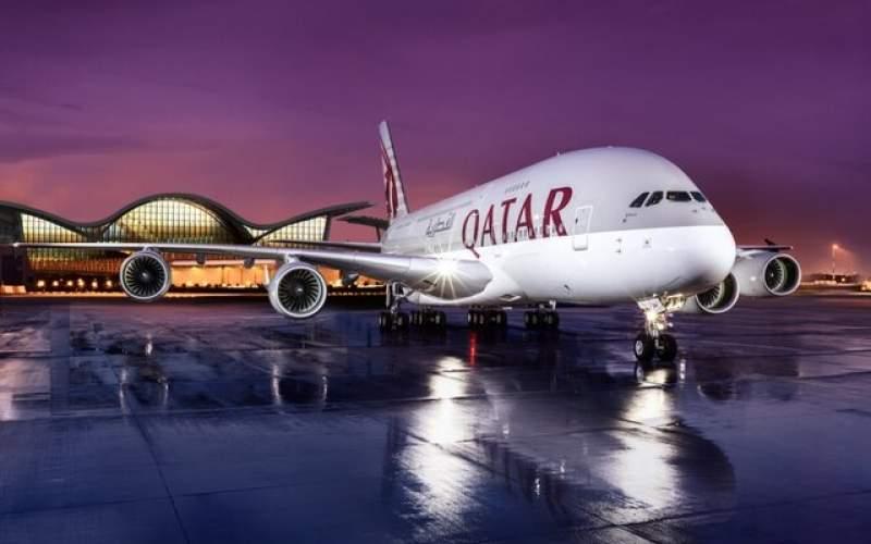 لغو پروازهای خارجی به مقصد دوحه از چهارشنبه