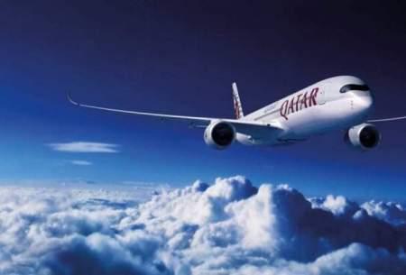پروازهای ورودی به قطر لغو شد
