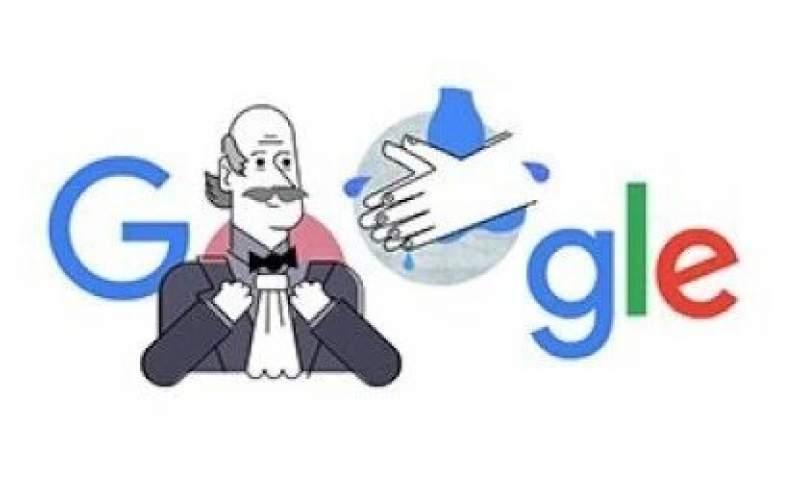 لوگوی گوگل هم کرونایی شد