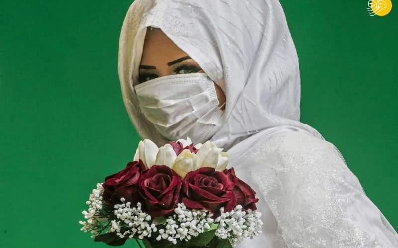 کرونا و عروسی/تصاویر