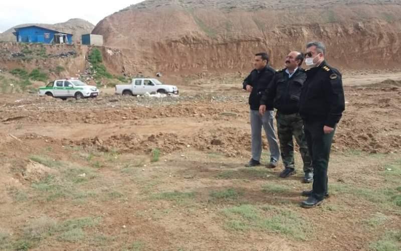 پایش اراضی ملی البرز شبانه روزی است