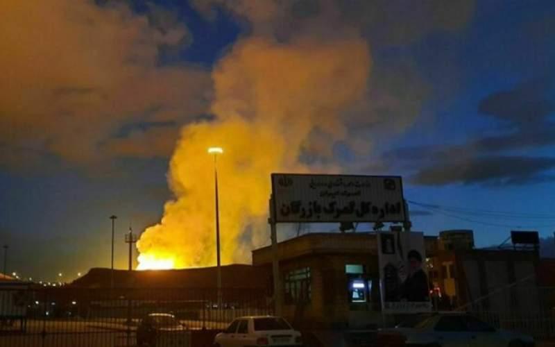 انفجار خط لوله گاز صادراتی ایران به ترکیه