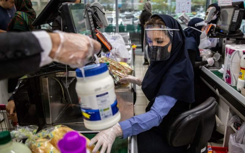 وضعیت فروشگاهها در روزهای کرونایی/تصاویر