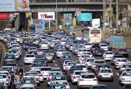 طول ترافیک امروز تهران به ۴۳ کیلومتر رسید