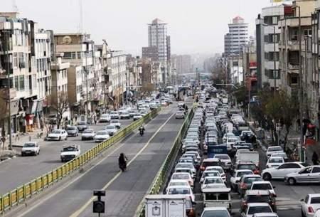 ترافیک نسبتا سنگین در ۶ معبراصلی پایتخت