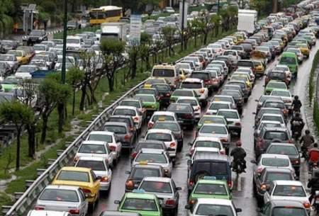 ترافیک سنگین در ۶ بزرگراه تهران