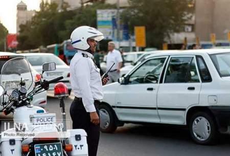 ترافیک سنگین در ۱۰ بزرگراه تهران