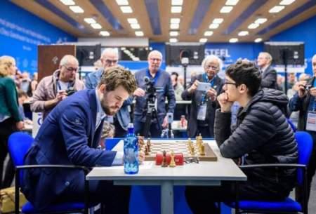 ناکامی فیروزجامقابل مردشماره یک شطرنج جهان