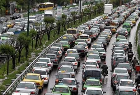 ترافیک نیمهسنگین در ورودی پایتخت