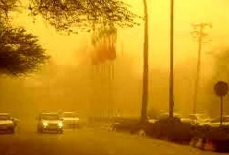 گرد و غبار هوای کرمانشاه را بحرانی کرد