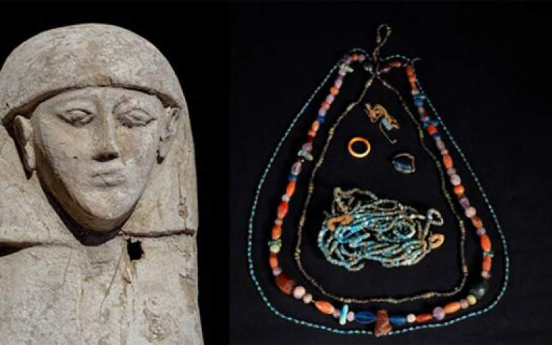 مومیایی یک عروس در مصر کشف شد