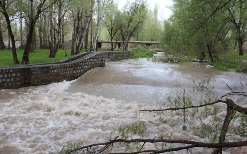 جزییات خسارت سیلاب در خلخال