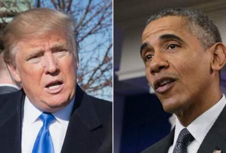 اولین واکنش دونالد ترامپ به انتقاد باراک اوباما